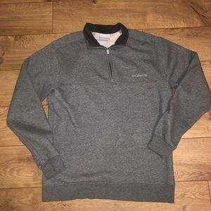 Columbia half zip fleece sweatshirt